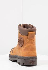 Palladium - PAMPA SPORT CUFF WATERPROOF LUX - Lace-up ankle boots - sunrise/carafe - 3