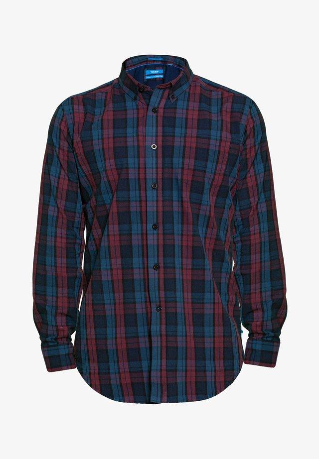 BIG AND TALL AND CHECK  - Shirt - blue