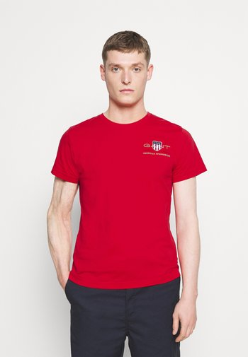 ARCHIVE SHIELD - T-shirt med print - bright red