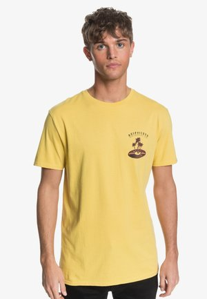 TROPICAL VIBES  - T-shirt print - misted yellow