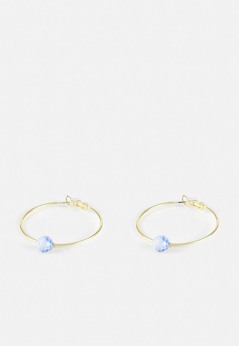 SNÖ of Sweden - AVION ROUND - Earrings - light blue