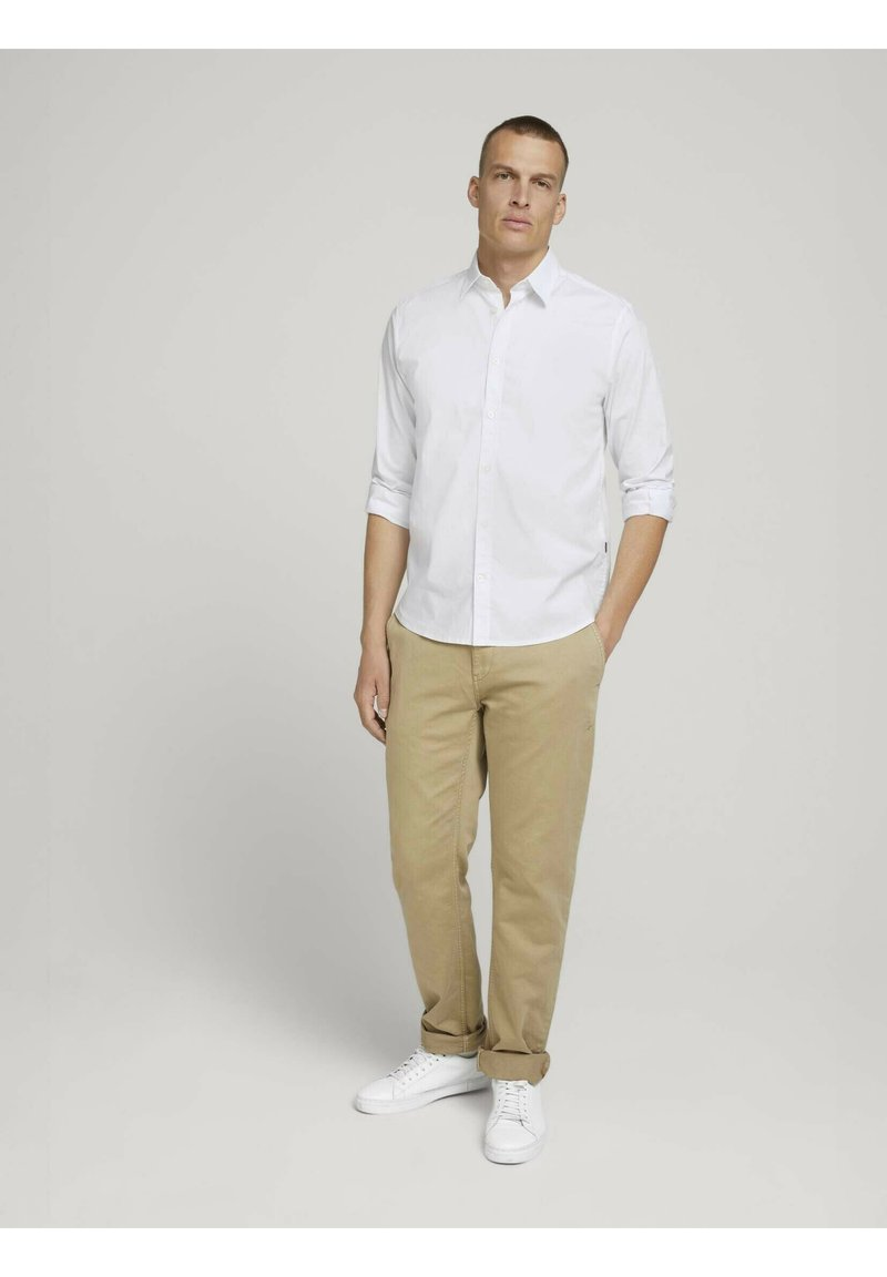 TOM TAILOR - Formal shirt - white