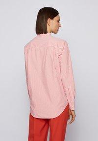 BOSS - BEFELIZE - Button-down blouse - dark orange - 2