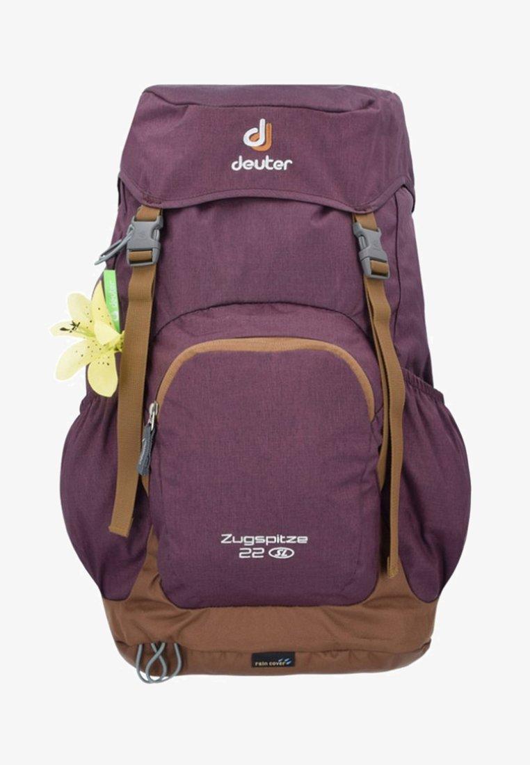 Deuter - ZUGSPITZE 22 SL - Backpack - aubergine/lion