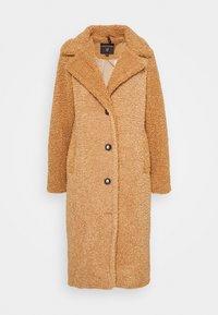 SUPER LONG COAT - Classic coat - fudge