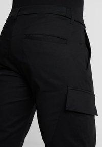 Antony Morato - PANT ON BOTTOM LEGS - Cargo trousers - black - 6