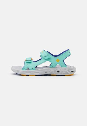 YOUTH TECHSUN VENT UNISEX - Sandalias de senderismo - aquarium/bright marigold