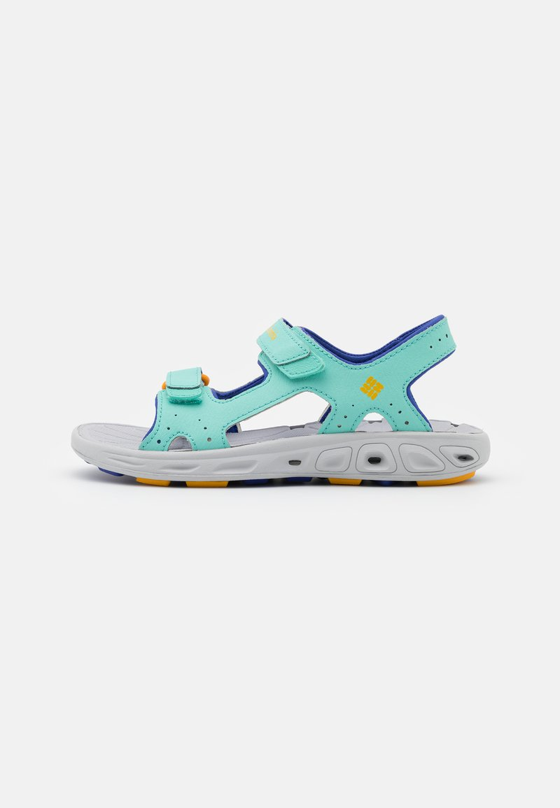 Columbia - YOUTH TECHSUN VENT UNISEX - Walking sandals - aquarium/bright marigold