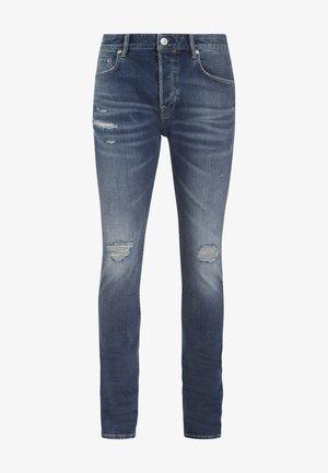CIGARETTE DAMAGED - Jeans Slim Fit - blue