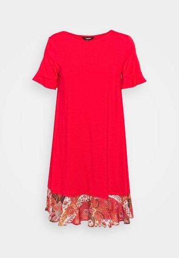 KALI - Jersey dress - red