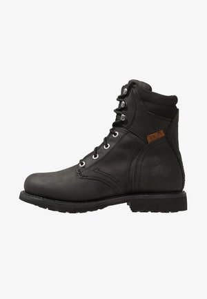DARNEL - Cowboy/biker ankle boot - black