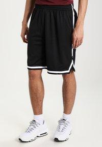 Urban Classics - STRIPES - Pantalon de survêtement - black/black/white - 0