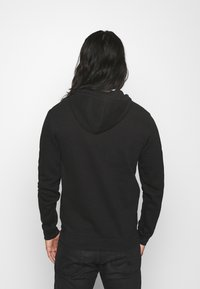 Pier One - 2 PACK - Hoodie - black / light grey - 2