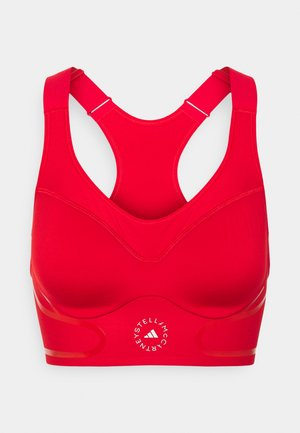 TRUEPACE BRA - Medium support sports bra - red