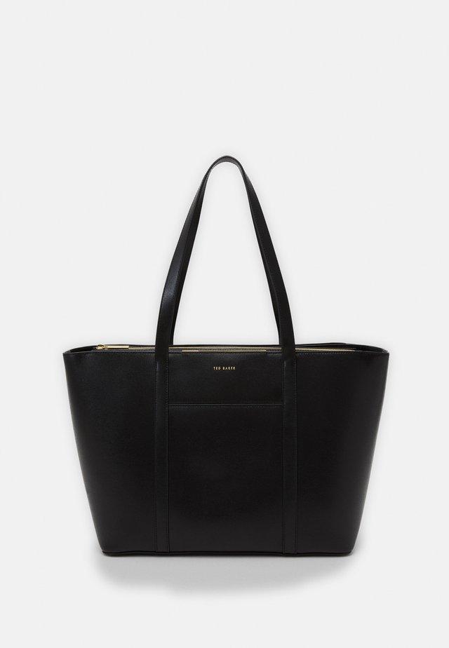 KIMIAA BAR DETAIL TOTE - Shopping bag - black