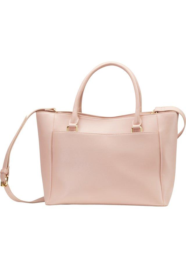HENKELTASCHE - Käsilaukku - dusky pink