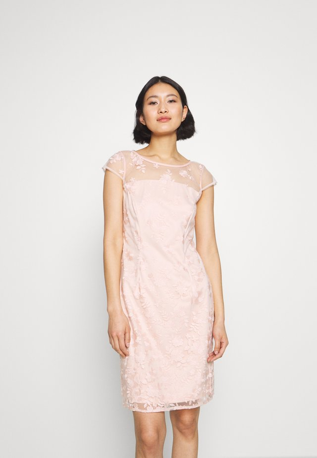 DEGRADÉ FLORAL - Cocktailjurk - pastel pink