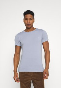 Replay - CREW TEE 3 PACK - T-shirt basic - dark blue/periwinkle/ash grey - 1