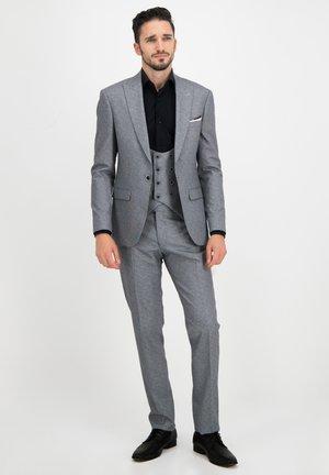 DREITEILER - Suit - grau