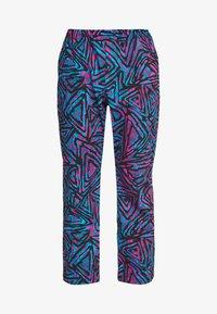 Nike SB - M NK SB PANT AOP - Broek - laser blue/black/laser blue - 3