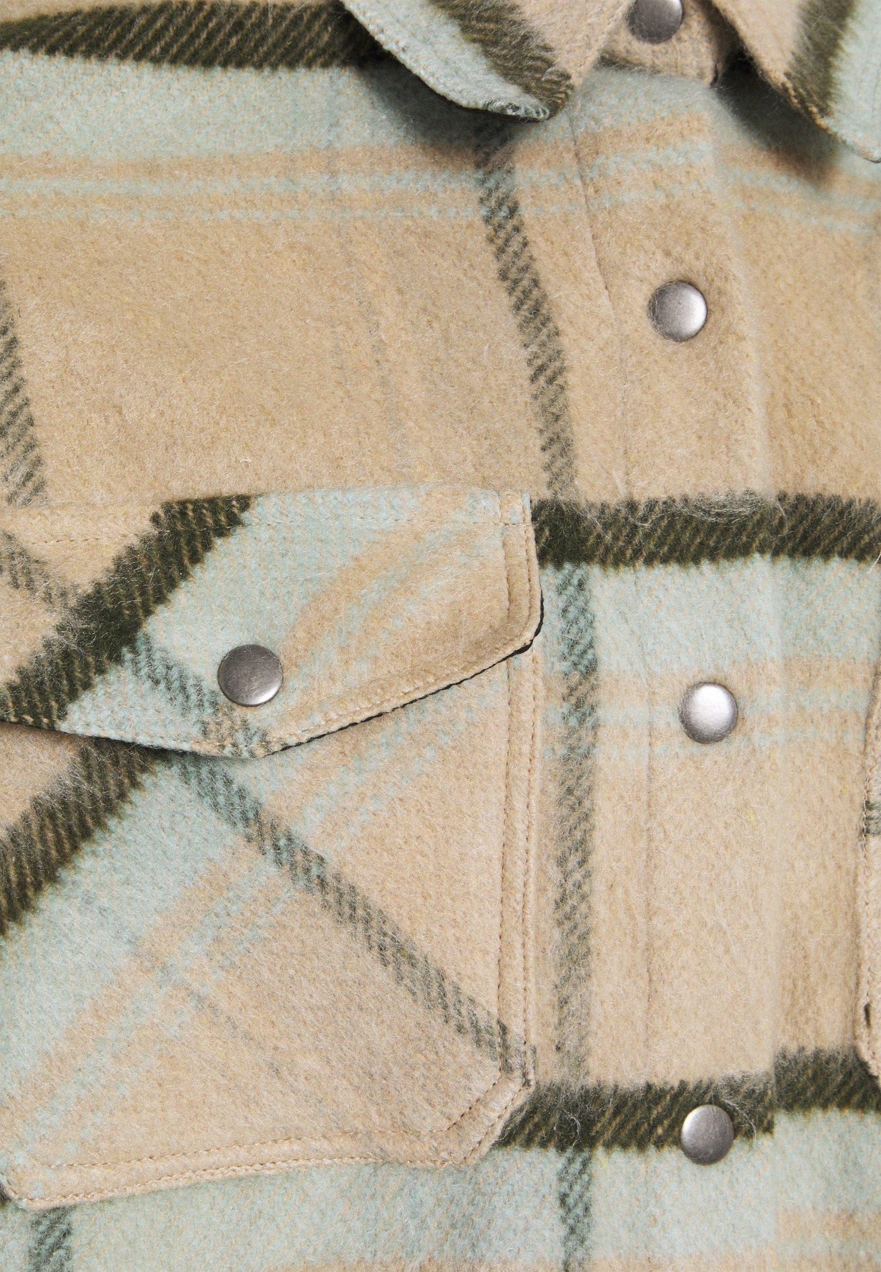 Cotton On ELYSE SHACKET Leichte Jacke mint check/beige