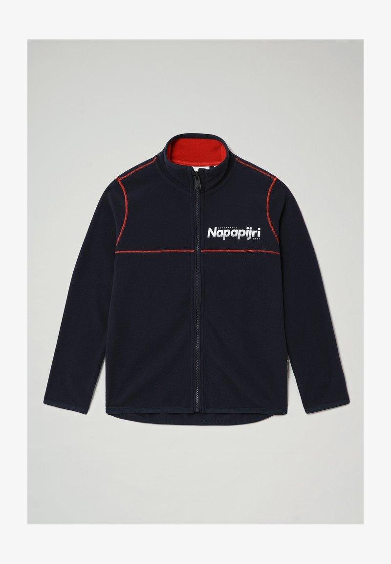 Napapijri - TAU FZBLU  - Fleece jacket - blu marine
