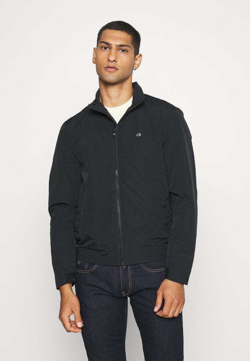 Calvin Klein - CASUAL BLOUSON JACKET - Summer jacket - black