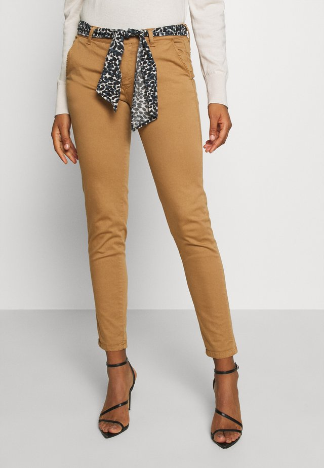 LIDY - Trousers - cappuccino