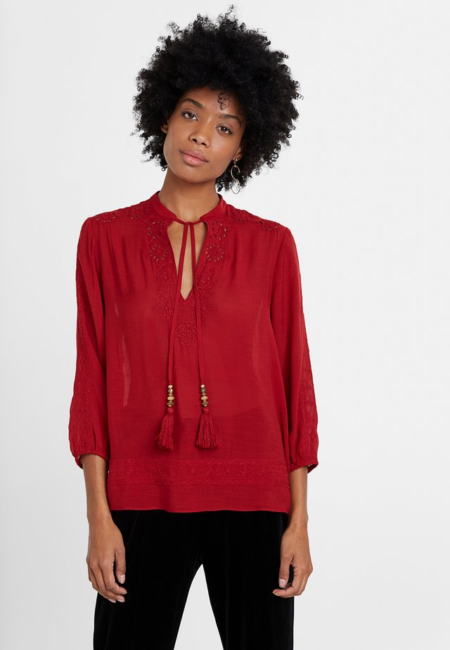 ANUSKA - Blouse - red