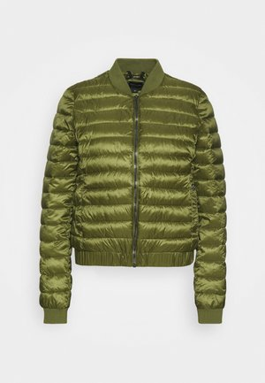 Bomber bunda - deep green