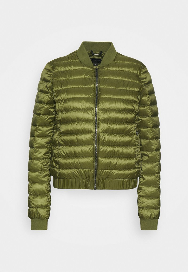 comma - Bomber Jacket - deep green