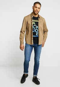Jack & Jones - JJIGLENN JJORIGINAL - Slim fit -farkut - blue denim - 1