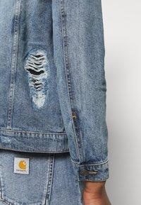 Brave Soul - Giacca di jeans - blue denim - 6