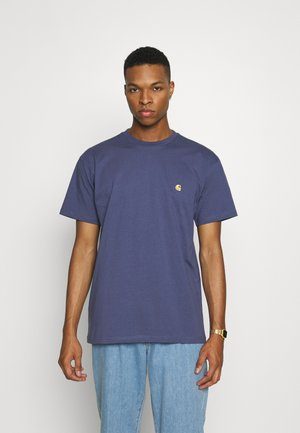 CHASE - T-shirt basique - cold viola/gold