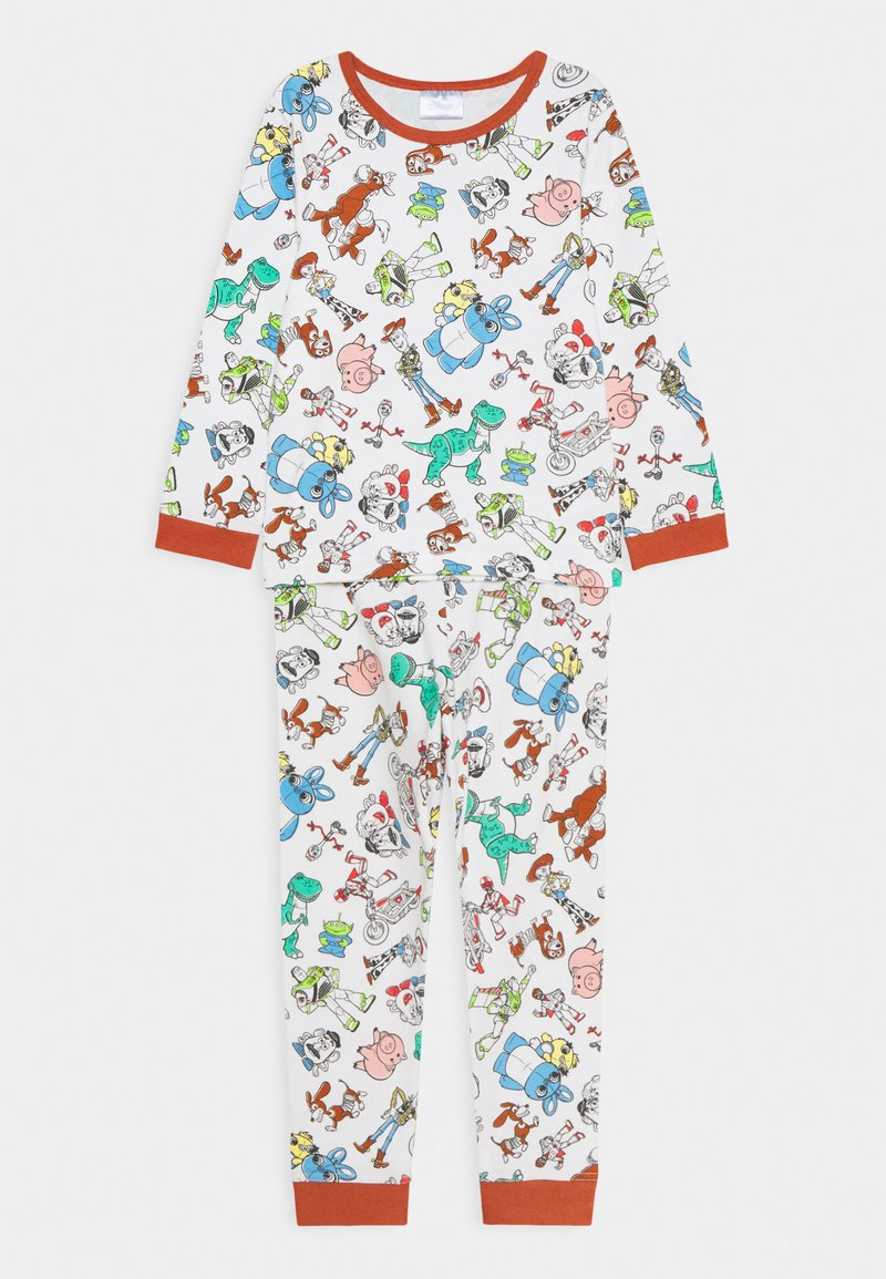 Cotton On - ORLANDO LONG SLEEVE PYJAMA - Pyjama set - vanilla