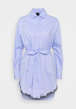 SCIENZA CAMICIA OXFORD - Skjortekjole - light blue