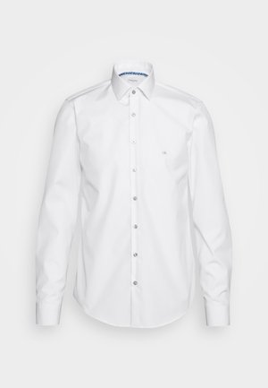 CONTRAST FLOWER PRINT SLIM - Formal shirt - white
