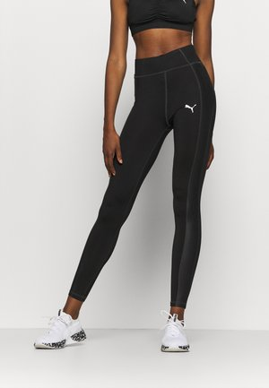 PAMELA REIF X PUMA HIGH WAIST BLOCK LEGGINGS - Leggings - black