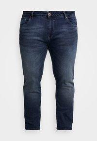 SHIELD PLUS - Slim fit jeans - dark used