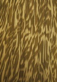 Object - OBJZANIA SKIRT - A-line skirt - khaki/animal - 5