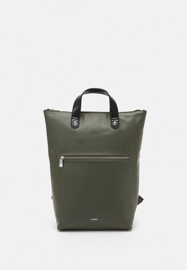 SOIL RUBBERISED UNISEX - Zaino - olive