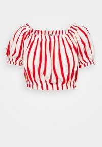 LTB - LOZIWE - Blouse - white/red - 5