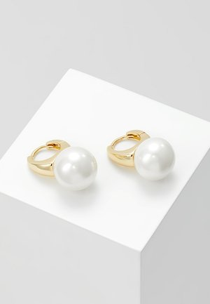 GRACIE SHORT EAR - Earrings - white