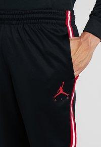 Jordan - JUMPMAN SUIT PANT - Træningsbukser - black/white/gym red - 4