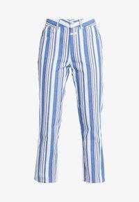 GLORIA - Trousers - bluebird