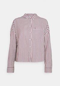 Tommy Jeans - BOXY STRIPE - Košile - white/multi - 4