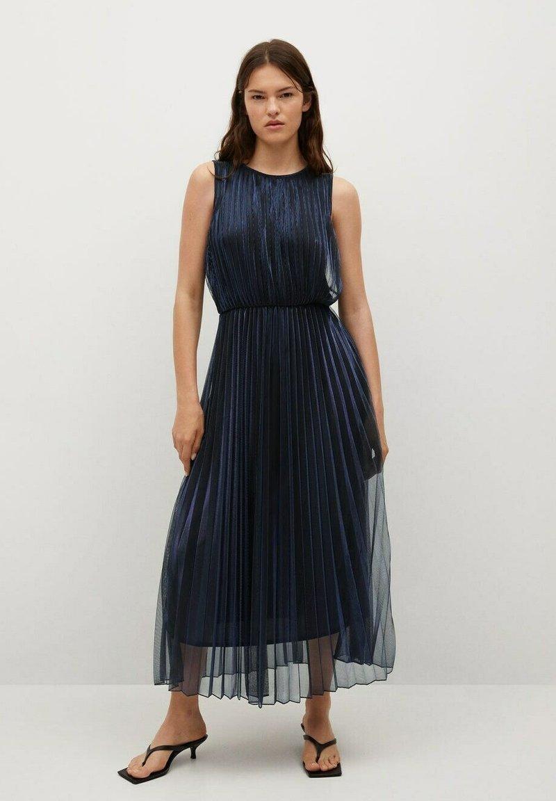 Mango - Cocktail dress / Party dress - bleu marine foncé