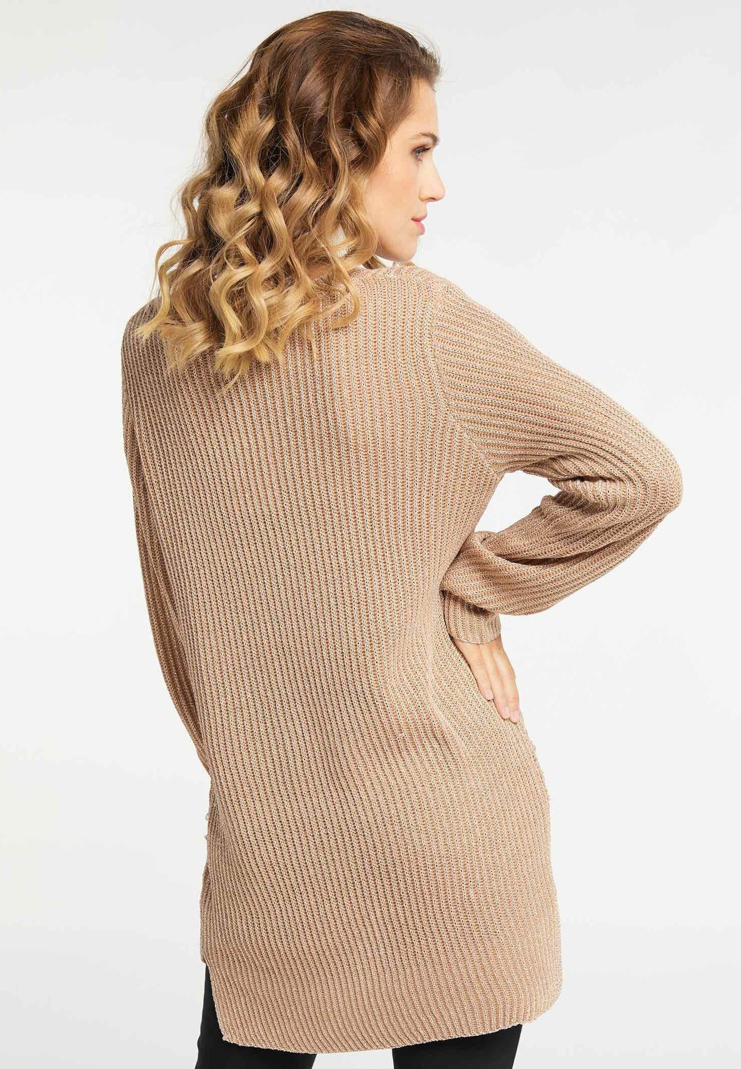 Best Authentic Women's Clothing faina Jumper mottled beige SyAfztFpO