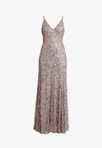 Maya Deluxe - EMBELLISHED CAMI MAXI DRESS - Suknia balowa - dusty purple - 5