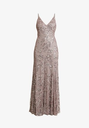 EMBELLISHED CAMI MAXI DRESS - Gallakjole - dusty purple